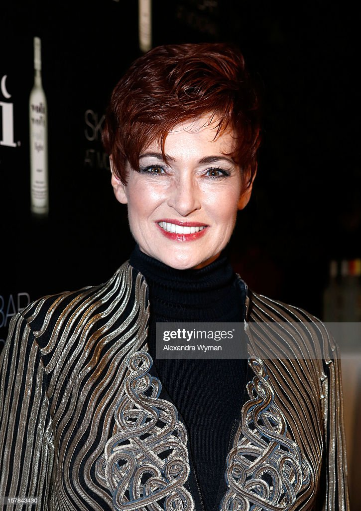 Actress Carolyn Hennesy attends Voli Light Vodka's Holiday Party hosted by Fergie Benefiting Cellphones for Soldiers at SkyBar at the Mondrian Los Angeles on December 6, 2012 in West Hollywood, California.