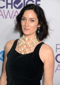 Actress Carrie Anne Moss attends the 2013 People's Choice Awards at Nokia Theatre LA Live on January 9 2013 in Los Angeles California
