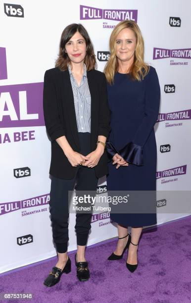 Actress Carrie Brownstein and TV personality Samantha Bee attend TBS' For Your Consideration event for 'Full Frontal With Samantha Bee' at Samuel...