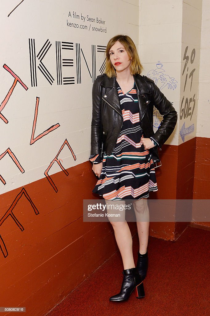 Actress Carrie Brownstein attends Snowbird presented by Kenzo at Hollywood American Legion on February 2 2016 in Los Angeles California