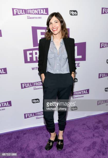 Actress Carrie Brownstein attends TBS' For Your Consideration event for 'Full Frontal With Samantha Bee' at Samuel Goldwyn Theater on May 23 2017 in...