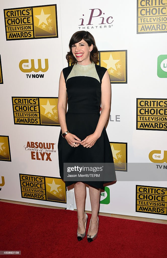 Actress <a gi-track='captionPersonalityLinkClicked' href=/galleries/search?phrase=Carrie+Brownstein&family=editorial&specificpeople=870017 ng-click='$event.stopPropagation()'>Carrie Brownstein</a> attends the 4th Annual Critics' Choice Television Awards at The Beverly Hilton Hotel on June 19, 2014 in Beverly Hills, California.
