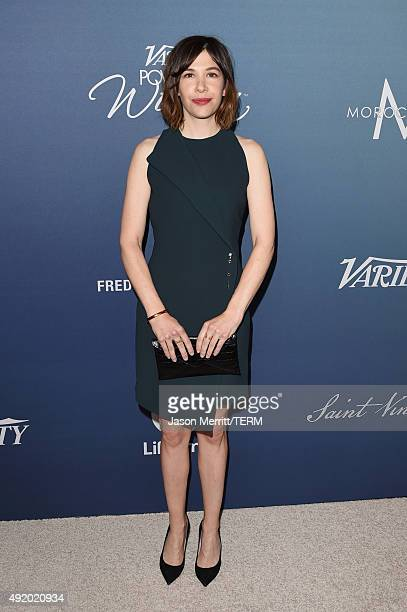 Actress Carrie Brownstein attends Variety's Power Of Women Luncheon at the Beverly Wilshire Four Seasons Hotel on October 9 2015 in Beverly Hills...