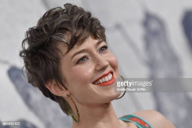 Actress Carrie Coon arrives at the Season 3 Premiere of 'The Leftovers' at Avalon Hollywood on April 4 2017 in Los Angeles California