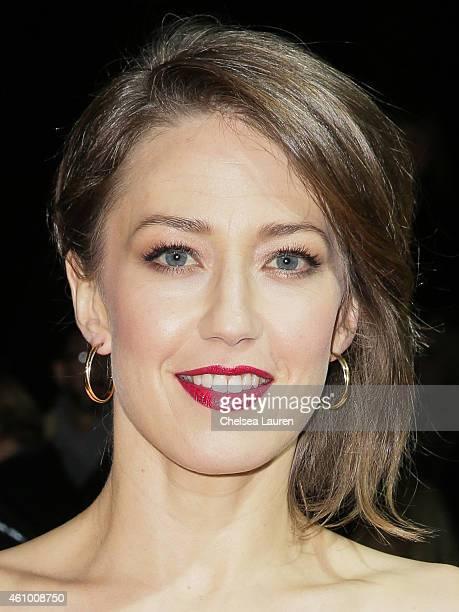 Actress Carrie Coon arrives with MercedesBenz at the 26th annual Palm Springs International Film Festival Awards Gala on January 3 2015 in Palm...