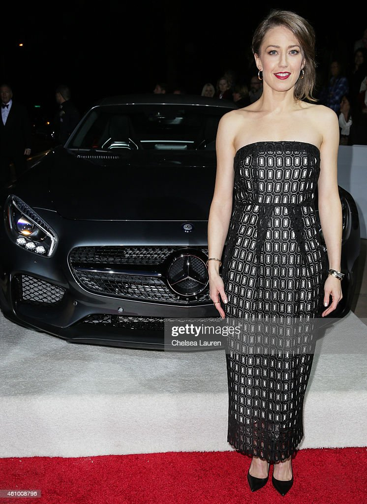 Actress Carrie Coon arrives with Mercedes-Benz at the 26th annual Palm Springs International Film Festival Awards Gala on January 3, 2015 in Palm Springs, California.