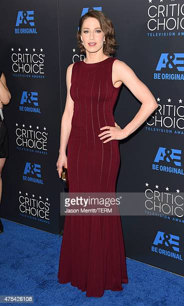 Actress Carrie Coon attends the 5th Annual Critics' Choice Television Awards at The Beverly Hilton Hotel on May 31 2015 in Beverly Hills California