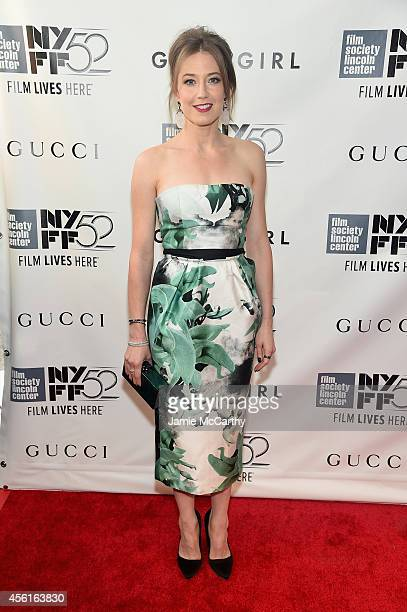 Actress Carrie Coon attends the Opening Night Gala Presentation and World Premiere of 'Gone Girl' during the 52nd New York Film Festival at Alice...