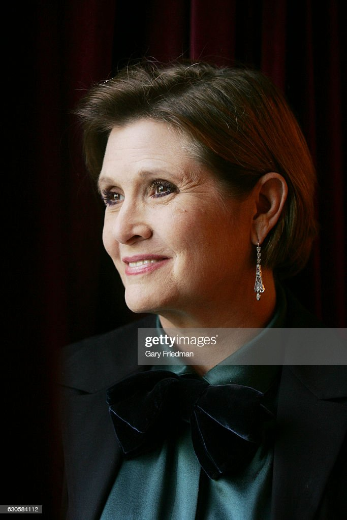 Actress Carrie Fisher is photographed for Los Angeles Times on October 16, 2006 in Los Angeles, California. PUBLISHED IMAGE.