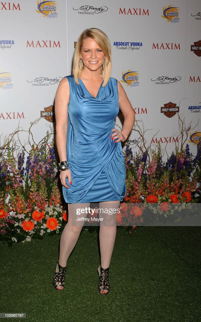 Actress Carrie Keagan arrives at the 11th Annual MAXIM HOT 100 Party at Paramount Studios on May 19, 2010 in Los Angeles, California.