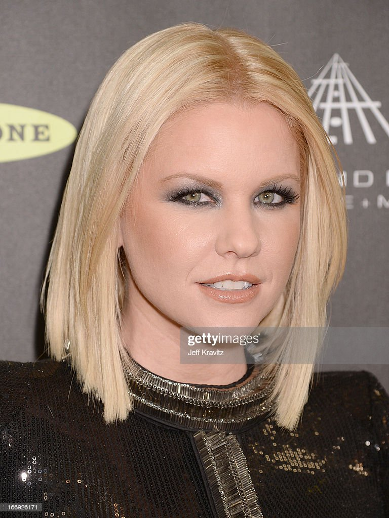 Actress Carrie Keagan arrives at the 28th Annual Rock and Roll Hall of Fame Induction Ceremony at Nokia Theatre L.A. Live on April 18, 2013 in Los Angeles, California.