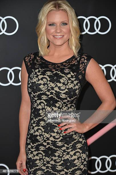 Actress Carrie Keagan arrives to Audi Celebrates Golden Globes Weekend at Cecconi's Restaurant on January 9 2014 in Los Angeles California
