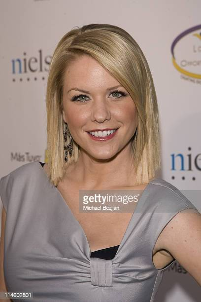 Actress Carrie Keagan attends the Boyle Heights Technology Youth Center 4th Annual Community Awards Gala at Boyle Heights Technology Youth Center on...
