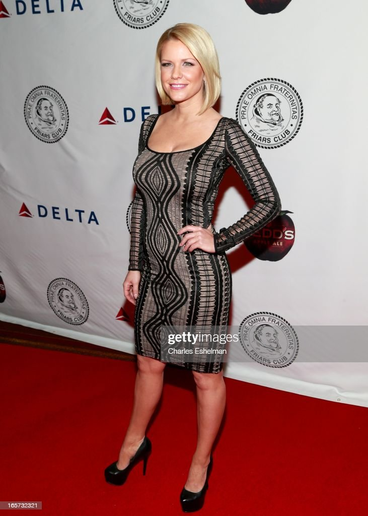Actress <a gi-track='captionPersonalityLinkClicked' href=/galleries/search?phrase=Carrie+Keagan&family=editorial&specificpeople=2247557 ng-click='$event.stopPropagation()'>Carrie Keagan</a> attends The Friars Club Roast Honors Jack Black at New York Hilton and Towers on April 5, 2013 in New York City.