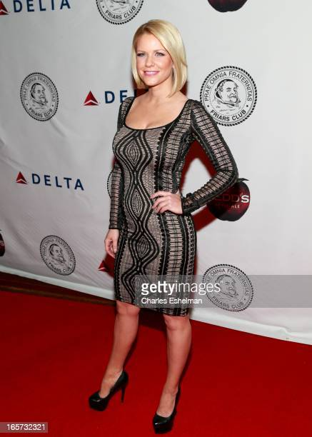 Actress Carrie Keagan attends The Friars Club Roast Honors Jack Black at New York Hilton and Towers on April 5 2013 in New York City