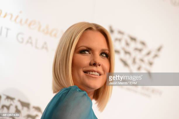 Actress Carrie Keagan attends the Humane Society of The United States 60th Anniversary Gala at The Beverly Hilton Hotel on March 29 2014 in Beverly...