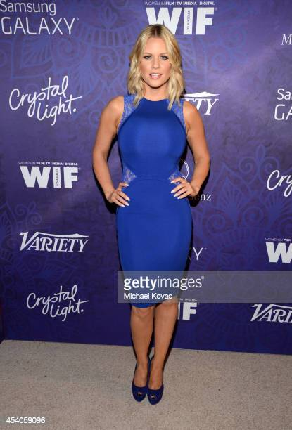 Actress Carrie Keagan attends the Variety and Women in Film Emmy Nominee Celebration powered by Samsung Galaxy on August 23 2014 in West Hollywood...