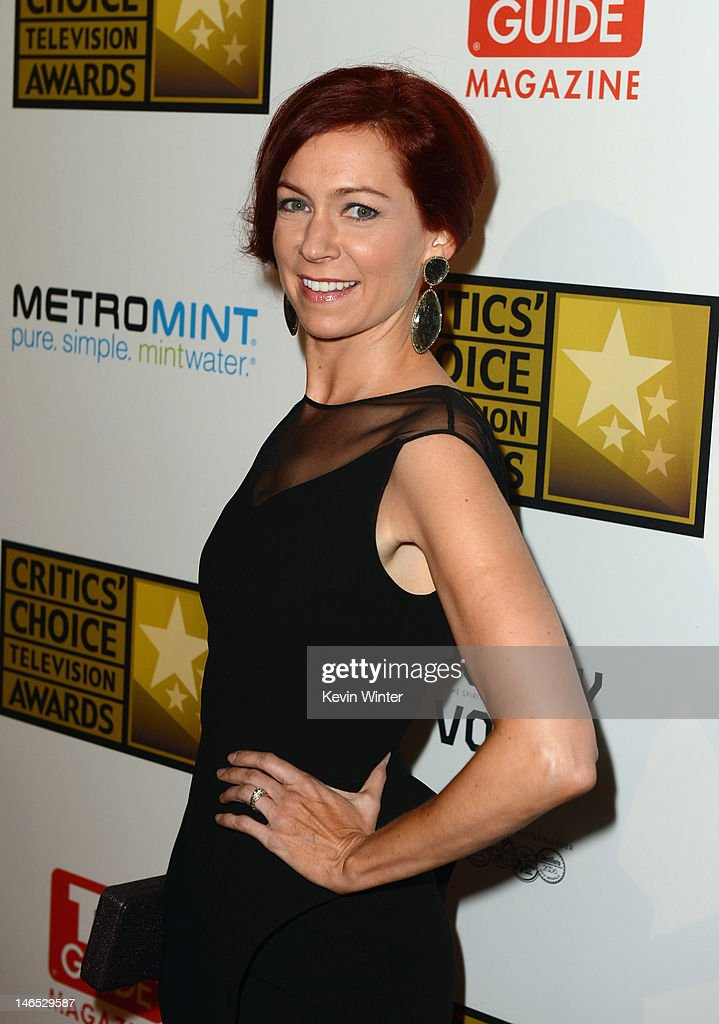 Actress Carrie Preston arrives at Broadcast Television Journalists Association Second Annual Critics' Choice Awards at The Beverly Hilton Hotel on June 18, 2012 in Beverly Hills, California.