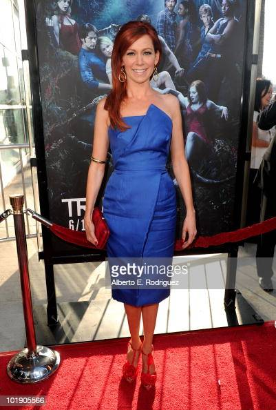Actress Carrie Preston arrives at HBO's 'True Blood' Season 3 premiere held at ArcLight Cinemas Cinerama Dome on June 8 2010 in Hollywood California