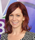 Actress Carrie Preston arrives at the 2016 NBCUniversal Winter TCA Press Tour at Langham Hotel on January 13 2016 in Pasadena California