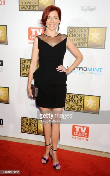 Actress Carrie Preston arrives at The Critics' Choice Television Awards at The Beverly Hilton Hotel on June 18 2012 in Beverly Hills California