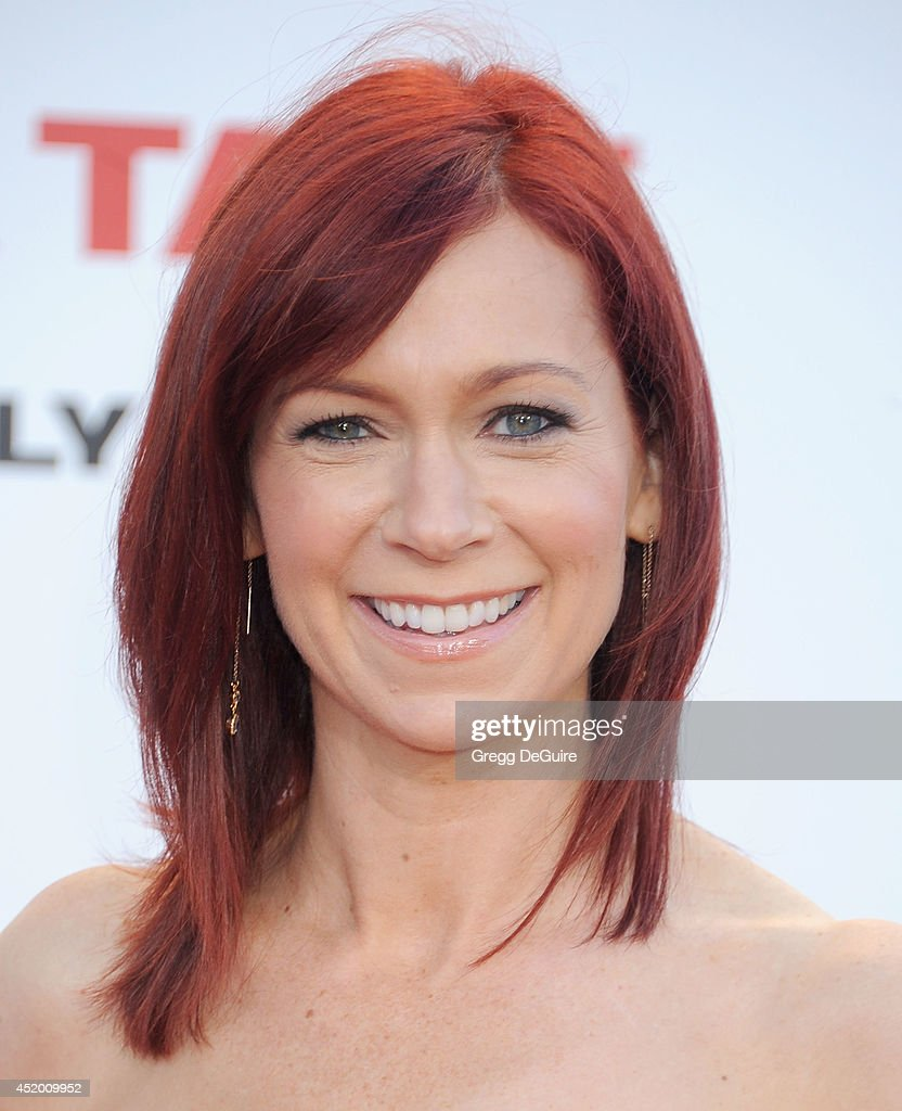 Actress <a gi-track='captionPersonalityLinkClicked' href=/galleries/search?phrase=Carrie+Preston&family=editorial&specificpeople=2220324 ng-click='$event.stopPropagation()'>Carrie Preston</a> arrives at the Los Angeles premiere of 'Sex Tape' at Regency Village Theatre on July 10, 2014 in Westwood, California.