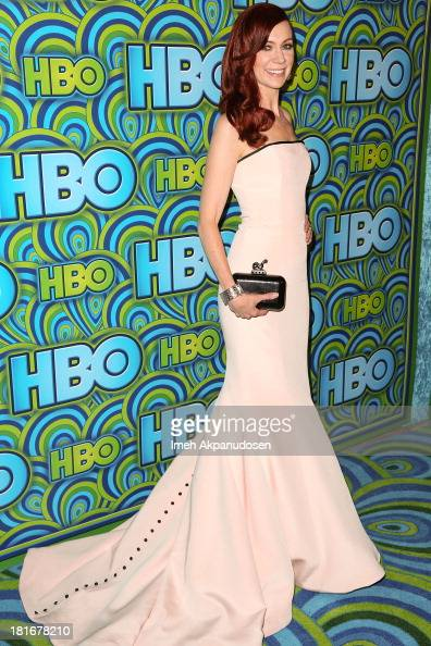 Actress Carrie Preston attends HBO's Annual Primetime Emmy Awards Post Award Reception at The Plaza at the Pacific Design Center on September 22 2013...