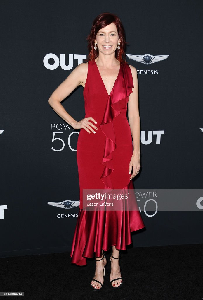 Actress Carrie Preston attends OUT Magazine's inaugural POWER 50 gala and awards presentation at Goya Studios on August 10, 2017 in Los Angeles, California.