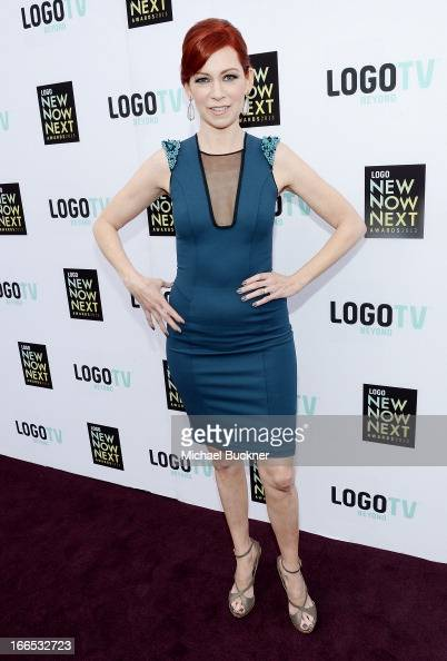 Actress Carrie Preston attends the 2013 NewNowNext Awards at The Fonda Theatre on April 13 2013 in Los Angeles California
