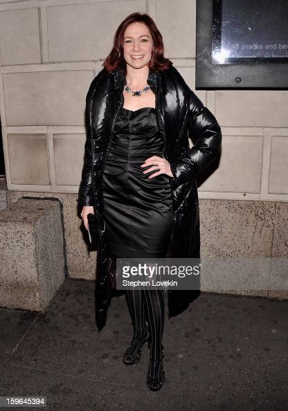 Actress Carrie Preston attends the 'Cat On A Hot Tin Roof' Opening Night at Richard Rodgers Theatre on January 17 2013 in New York City
