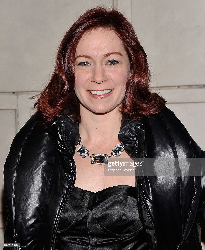 Actress Carrie Preston attends the 'Cat On A Hot Tin Roof' Opening Night at Richard Rodgers Theatre on January 17, 2013 in New York City.