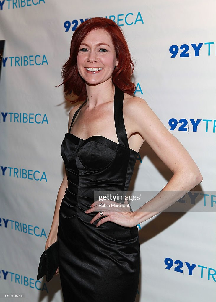 Actress <a gi-track='captionPersonalityLinkClicked' href=/galleries/search?phrase=Carrie+Preston&family=editorial&specificpeople=2220324 ng-click='$event.stopPropagation()'>Carrie Preston</a> attends the 'Person Of Interest' preview screening and Q&A at92Y Tribeca on September 24, 2012 in New York City.
