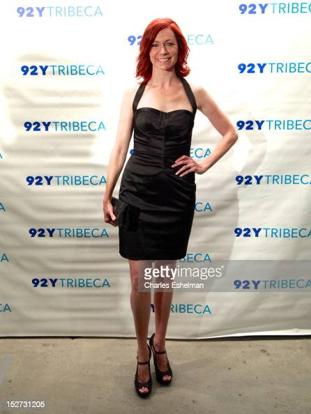 Actress Carrie Preston attends the 'Person of Interest' preview screening and QA at the 92Y Tribeca on September 24 2012 in New York City