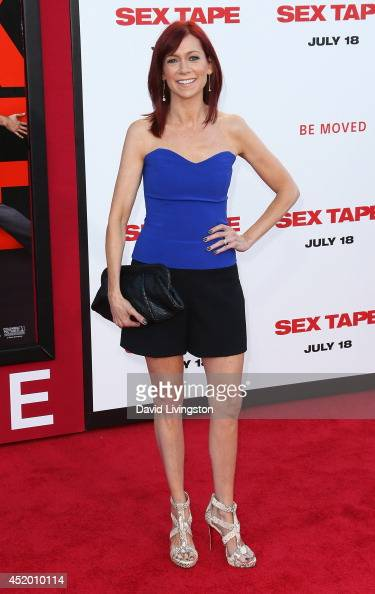 Actress Carrie Preston attends the premiere of Columbia Pictures' 'Sex Tape' at the Regency Village Theatre on July 10 2014 in Westwood California