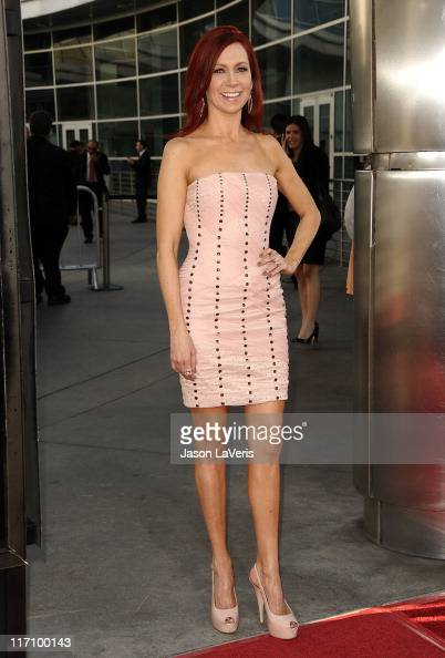 Actress Carrie Preston attends the premiere of HBO's 'True Blood' at ArcLight Cinemas Cinerama Dome on June 21 2011 in Hollywood California