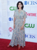 Actress CarrieAnne Moss arrives at the 2012 CBS Showtime and The CW TCA Summer Party at 9900 Wilshire Blvd on July 29 2012 in Beverly Hills California