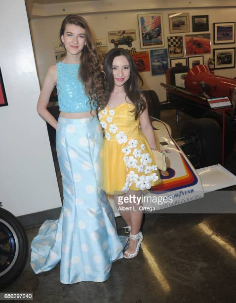 Actress Casey Burke and actress Ava Cantrell arrive for The Jonathan Foundation Presents The 2017 Spring Fundraising Event To Benefit Children With...