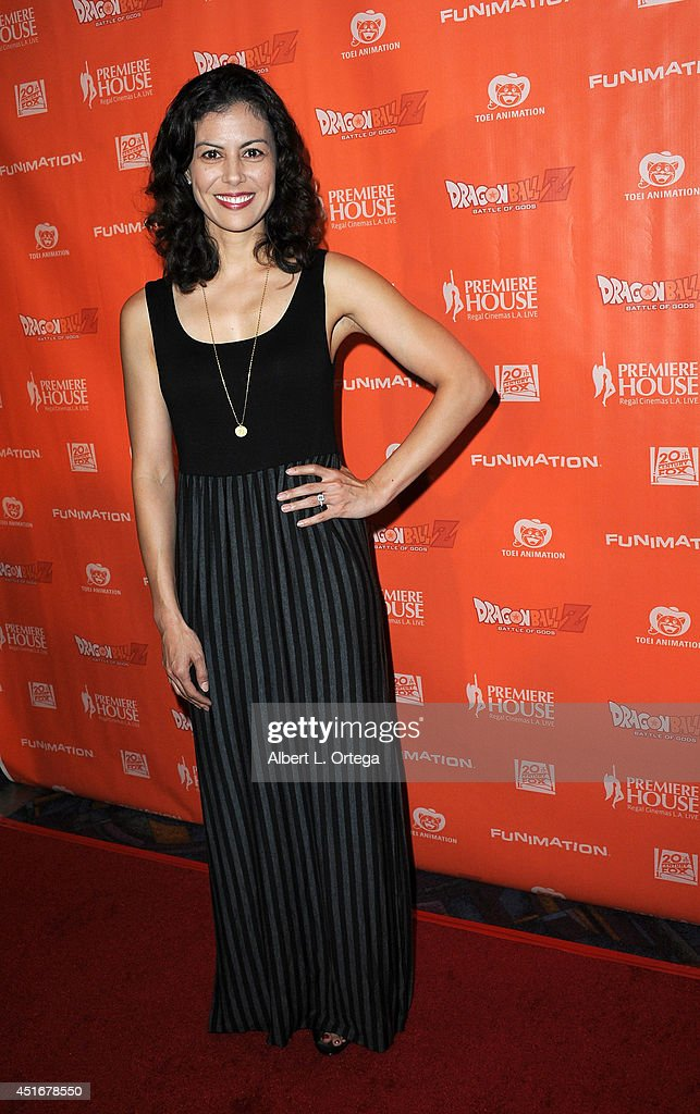 Actress Casey Dacanay arrives for the Premiere Of 'Dragon Ball