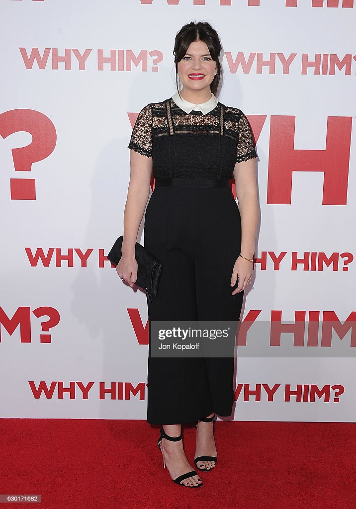 Actress Casey Wilson arrives at the Los Angeles Premiere 'Why Him?' at Regency Bruin Theater on December 17, 2016 in Westwood, California.