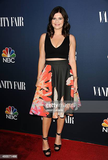 Actress Casey Wilson attends the NBC Vanity Fair 2014 2015 TV season event at HYDE Sunset Kitchen Cocktails on September 16 2014 in West Hollywood...