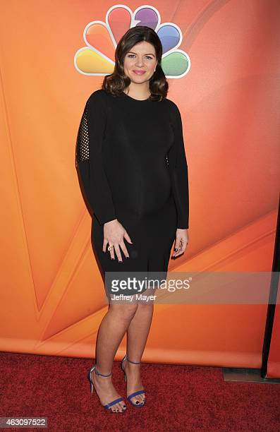 Actress Casey Wilson attends the NBCUniversal 2015 Press Tour at the Langham Huntington Hotel on January 16 2015 in Pasadena California