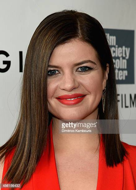 Actress Casey Wilson attends the Opening Night Gala Presentation and World Premiere of 'Gone Girl' during the 52nd New York Film Festival at Alice...