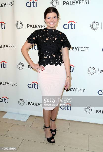 Actress Casey Wilson attends The Paley Center for Media's PaleyFest 2014 Fall TV Preview NBC of the television show 'Marry Me' at The Paley Center...