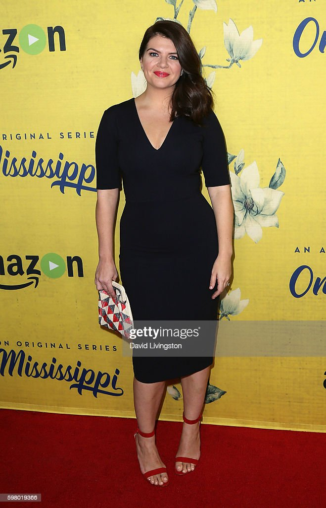 Actress Casey Wilson attends the premiere of Amazon Instant Video's 'One Mississippi' at The London West Hollywood on August 30, 2016 in West Hollywood, California.
