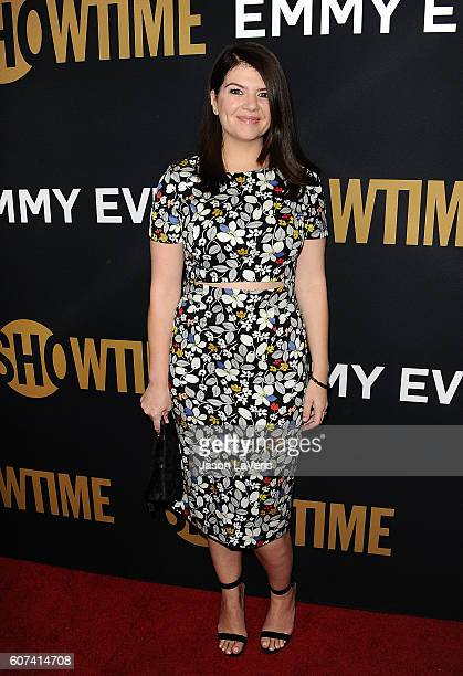 Actress Casey Wilson attends the Showtime Emmy eve party at Sunset Tower on September 17 2016 in West Hollywood California