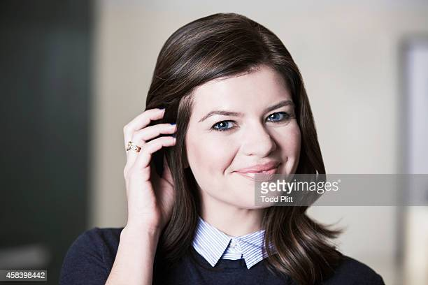 Actress Casey Wilson is photographed for USA Today on September 26 2014 in New York City PUBLISHED IMAGE