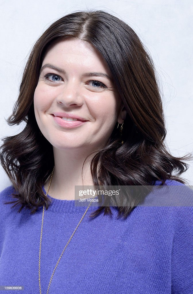 Actress Casey Wilson poses for a portrait during the 2013 Sundance Film Festival at the WireImage Portrait Studio at Village At The Lift on January 21 2013 in Park City, Utah.