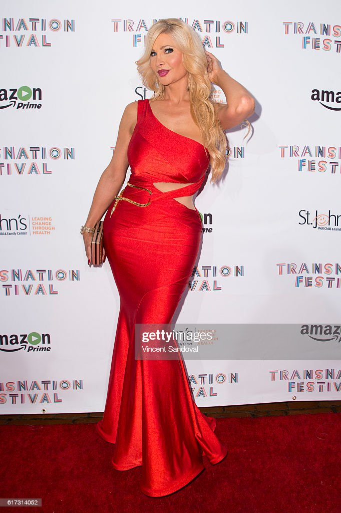 Actress Cassandra Cass attends the 15th Annual Queen USA Transgender Beauty Pageant at The Theatre at Ace Hotel on October 22, 2016 in Los Angeles, California.
