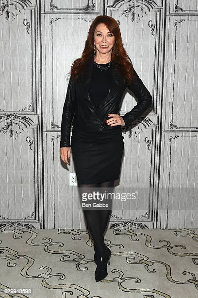 Actress Cassandra 'Elvira' Peterson attends AOL BUILD to discuss her iconic character Elvira at AOL HQ on December 15 2016 in New York City