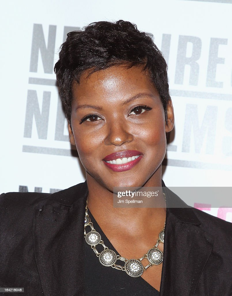 Actress Cassandra Freeman attends the New Directors/New Films 2013 Opening Night screening of 'Blue Caprice' at the Museum of Modern Art on March 20, 2013 in New York City.